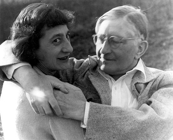 Josef and Anni Albers at Black Mountain