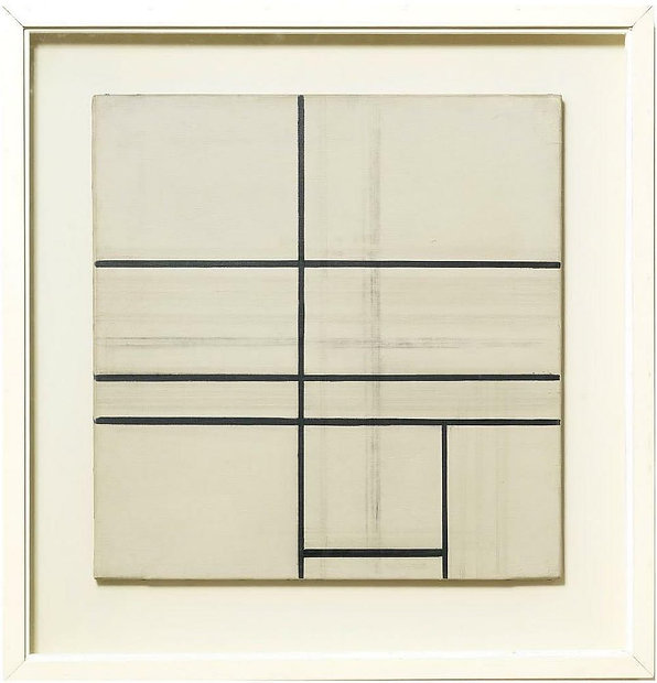 Piet Mondrian  Composition with Double L