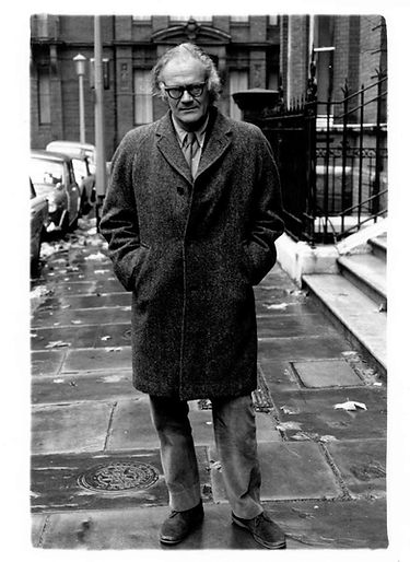 Robert Lowell in London, 1970.CreditCred