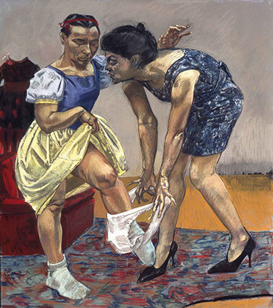 Paula Rego, Snow White and her Stepmothe