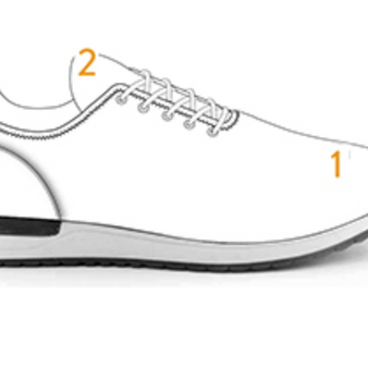9054 - Running Loafer with External Laces