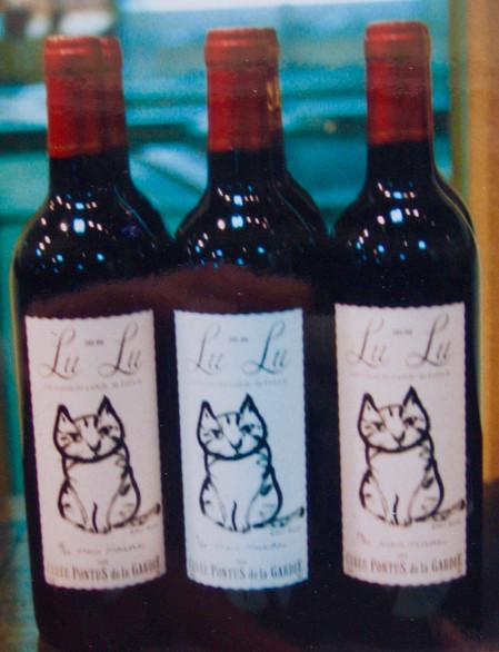 ルルオリジナルラベルワイン