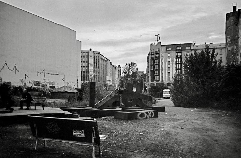 旧東ベルリン地区の作品のある中庭 (ベルリン)