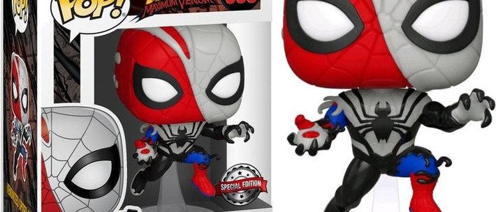 598 Venomized spider man ex
