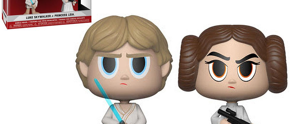 Vynl luke skywalker + princess leia