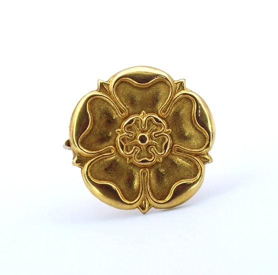 Yorkshire rose brooch