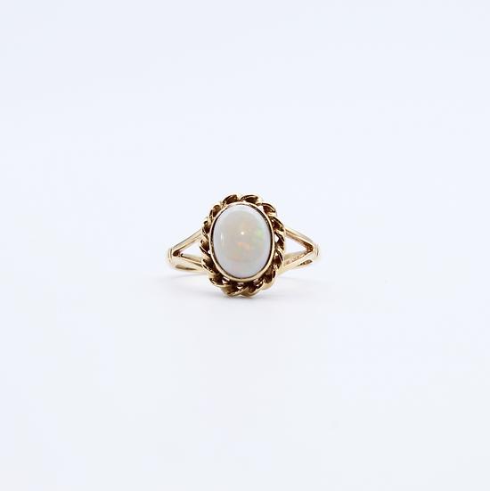 Opal dress ring