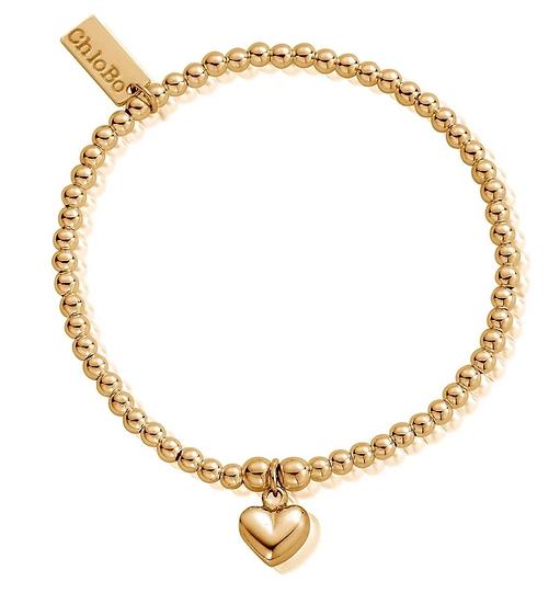 ChloBo puffed heart bracelet