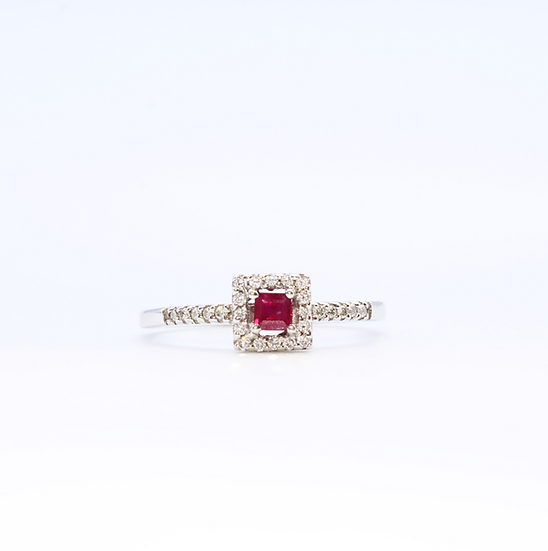 Ruby and Diamond halo cluster