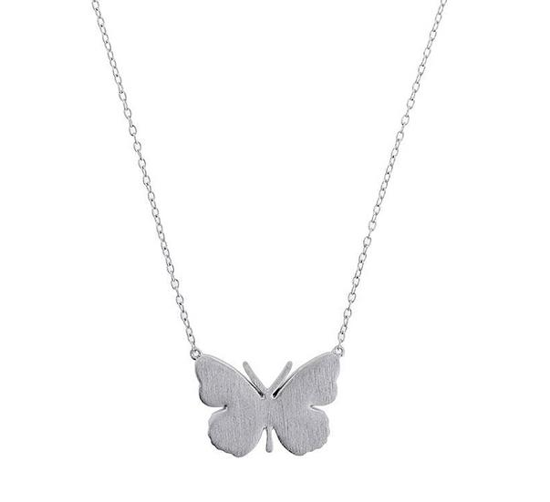 Azendi butterfly necklace