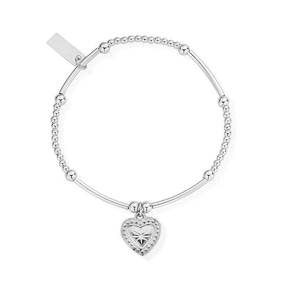 ChloBo heart stretch fit bracelet