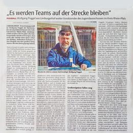 Wolfgang Poggel Interview
