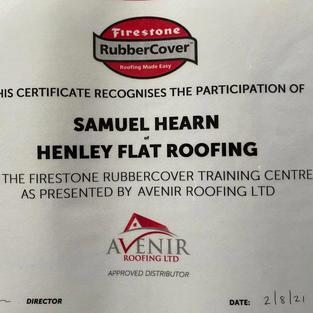 Firestone Rubbercover Certification