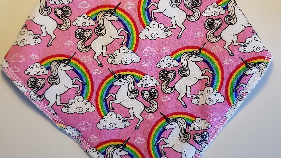Unicorns & Rainbows - pink