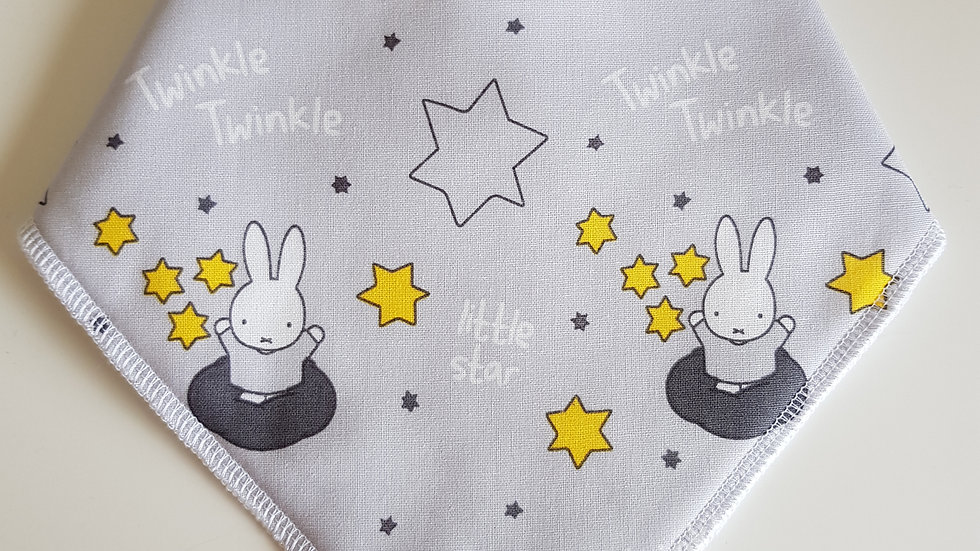 Twinkle Twinkle Bunny & Stars Bib