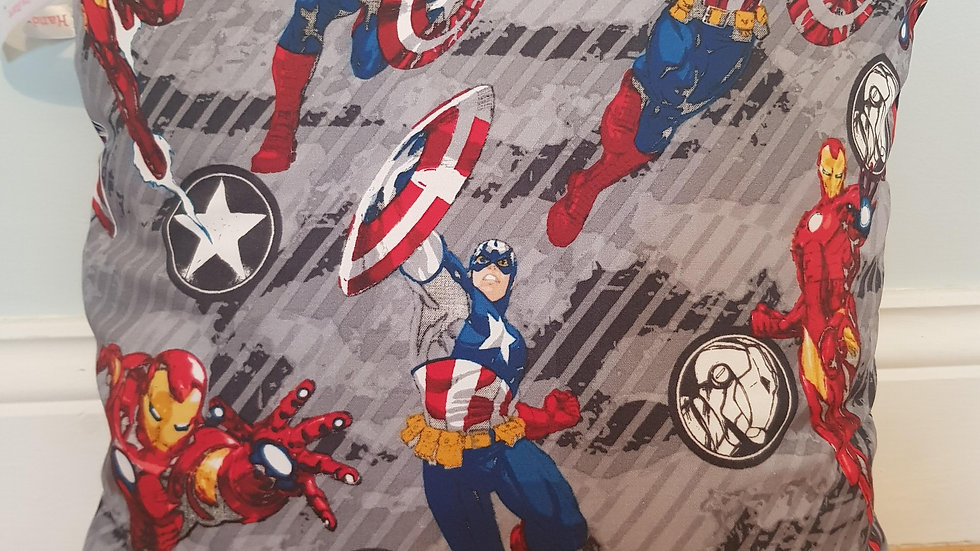 Iron Man & Captain America cushion cover