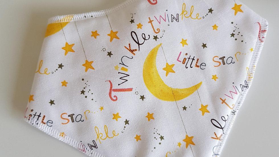 Twinkle Twinkle Little Star Bib