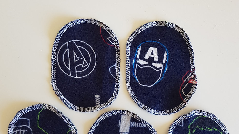 Avengers Face Pads - limited edition