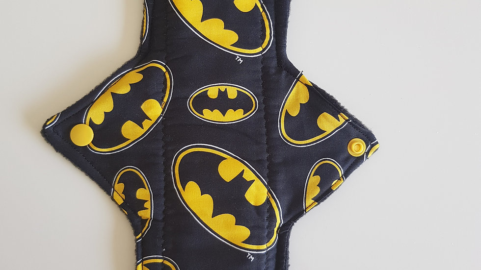 Batman reusable menstrual pad