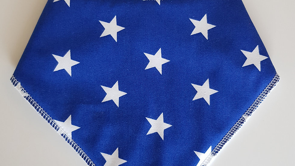 Blue star bib