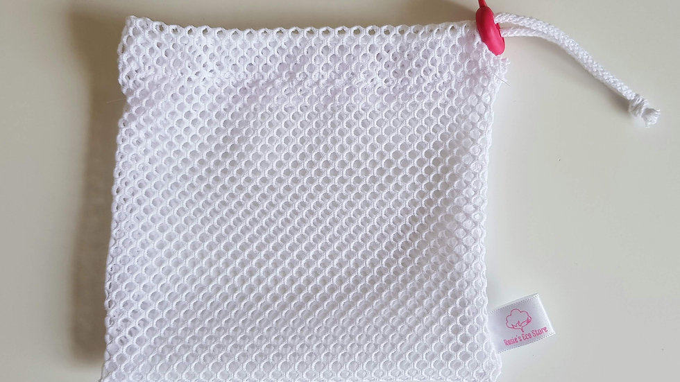 Net wash bag for face pads