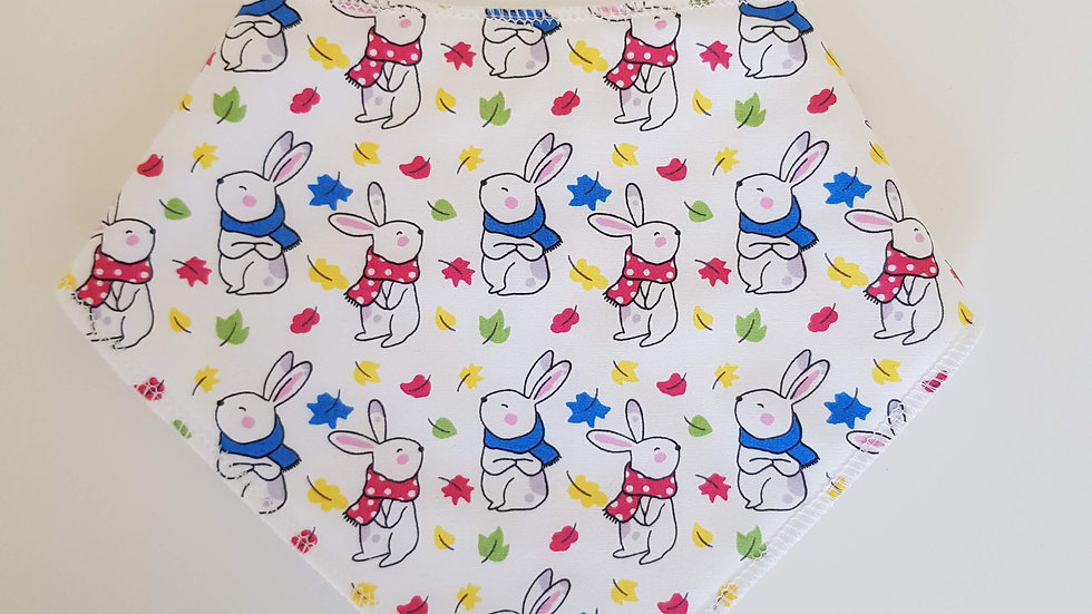 Bunnys & Leaves Bib