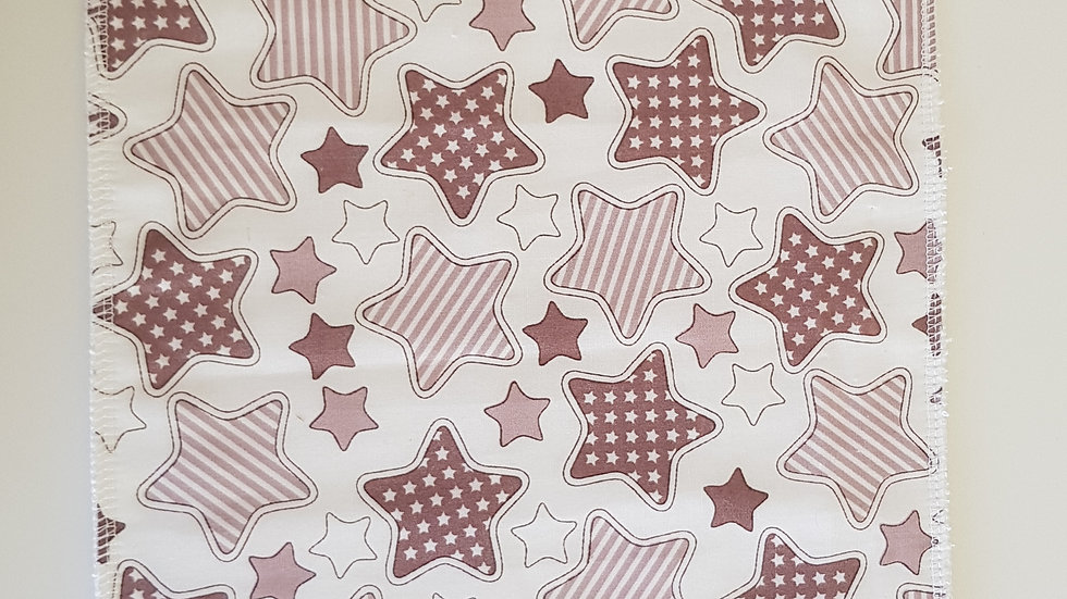 Burp Cloth - stars