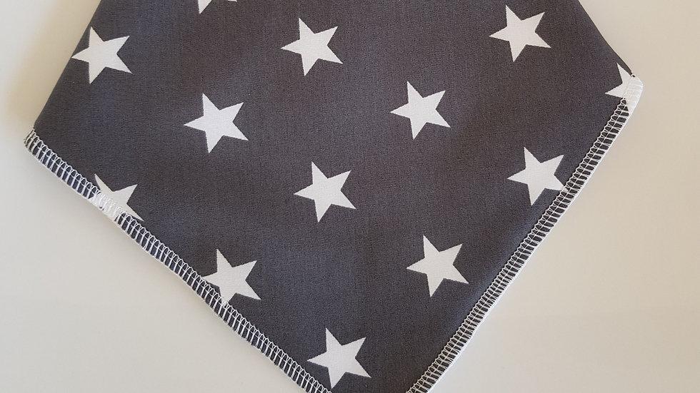 Grey Stars Bib