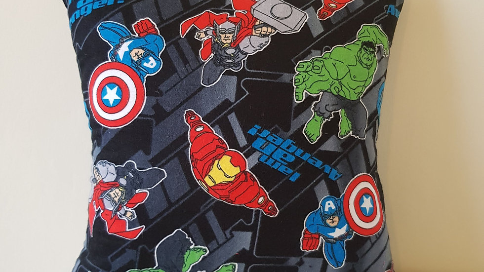 Avengers cushion cover - flannel