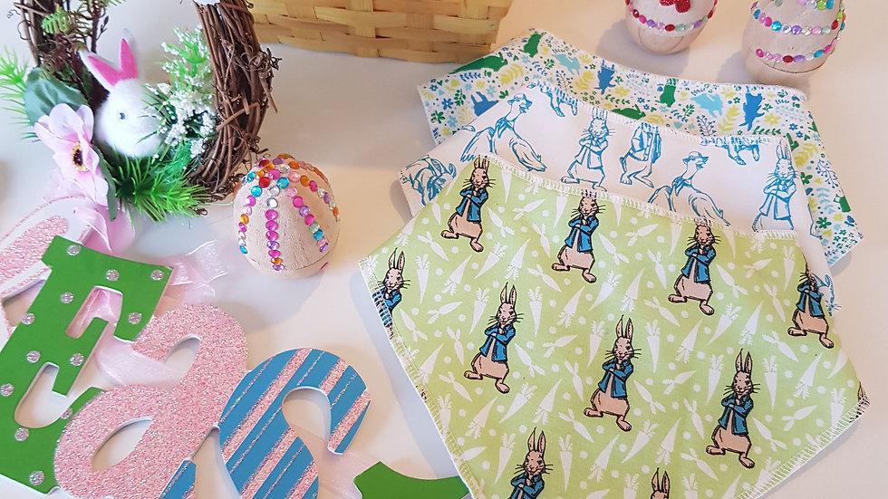 Easter 3 Bib set - Peter Rabbit