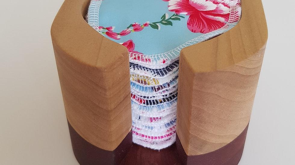 20 pads & wooden holder ~ Bundle Deal