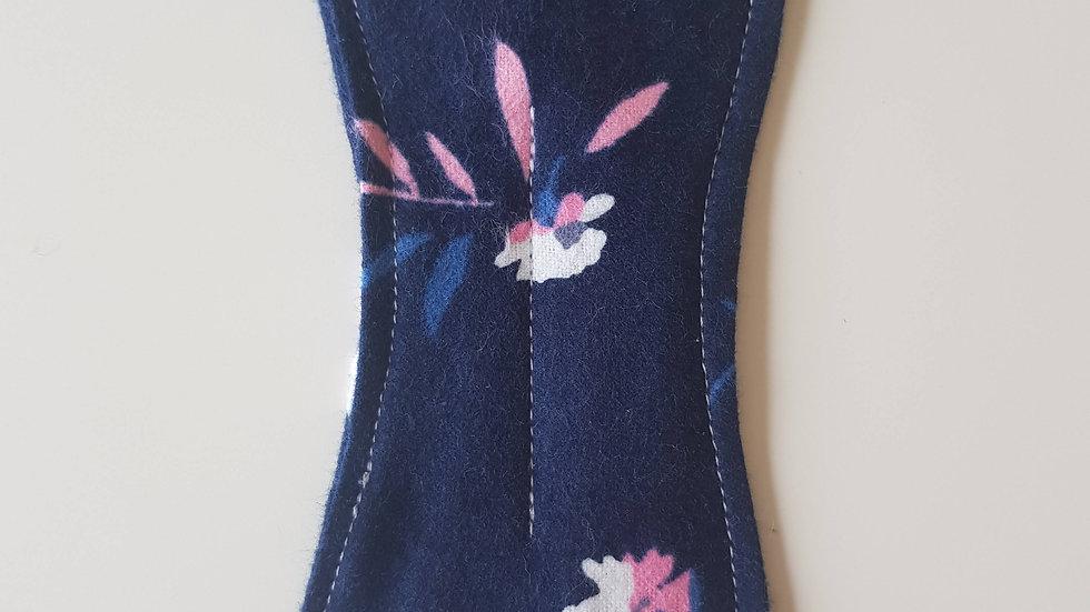 Panty Liner Navy Floral