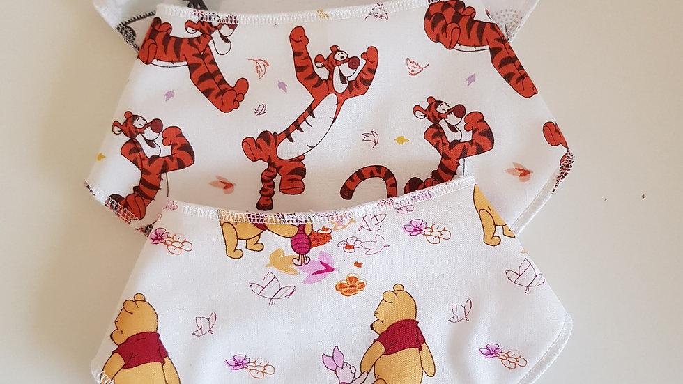 Newborn 3 Bib Set - Winnie the Pooh