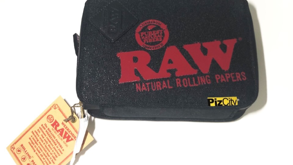 RAW Trapkit x Weekender Smell Proof Bag