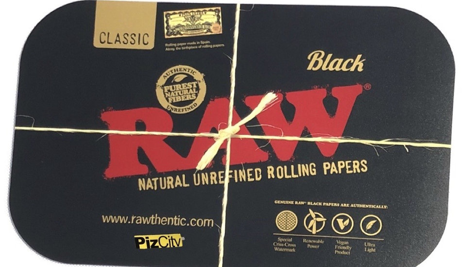 RAW Black Tray Covers