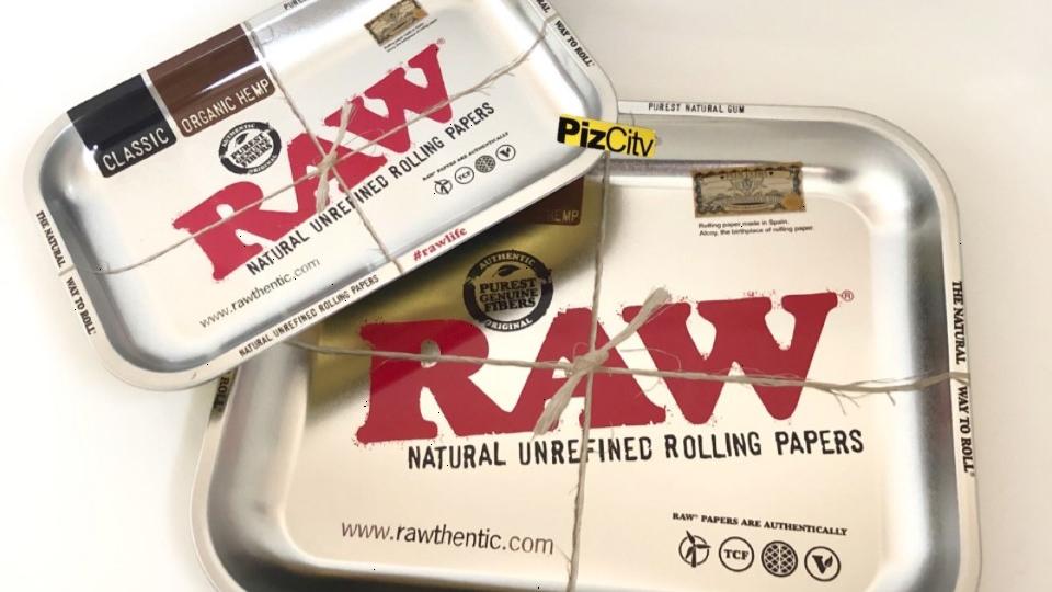 RAW Metallic Trays