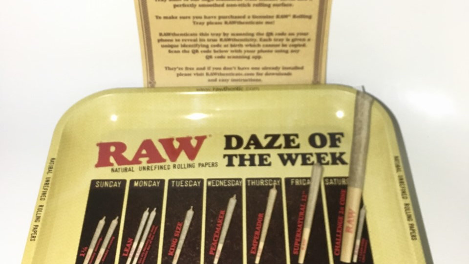 RAW 'Daze Of The Week' Tray