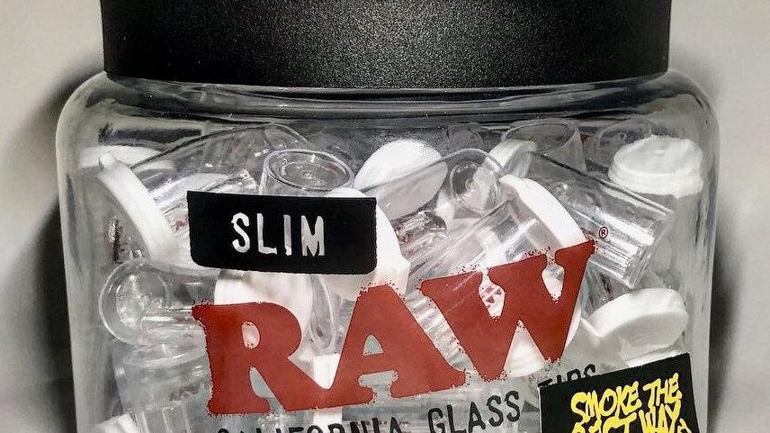 Mini/Slim RAW x ROOR Glass Tips