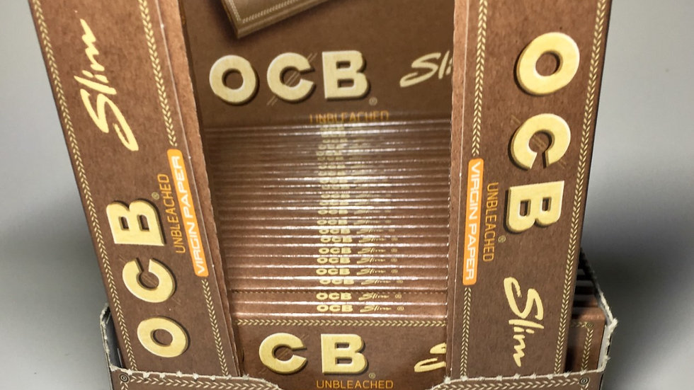 OCB Unbleached Kingsize Papers