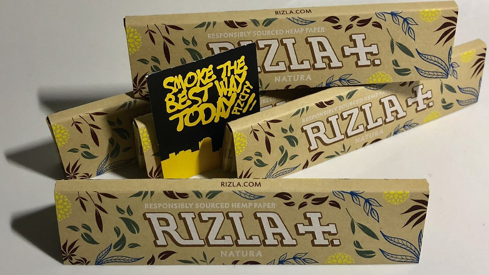 RIZLA Natura Hemp Kingsize Papers