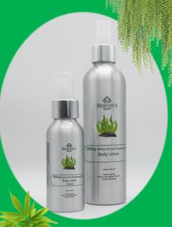 Hemp oil and Seaweed Body Lotion 250ml and 100ml