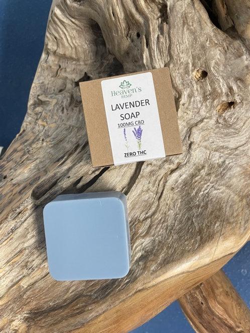 Lavender Soap With 100mgCBD ZERO THC