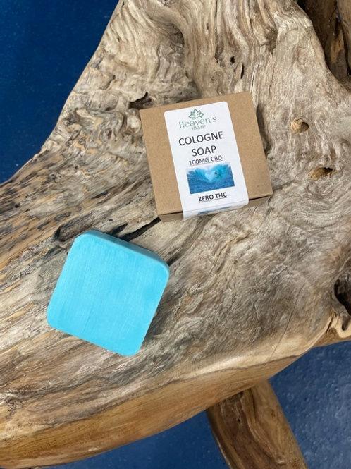 Cologne Soap With 100mg CBD ZERO THC