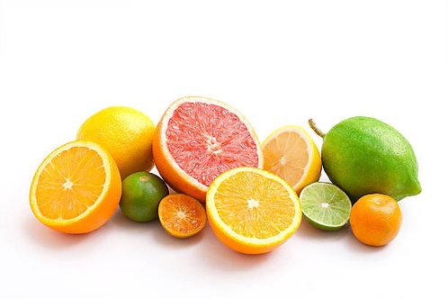 Citrus Massage Oil with CBD