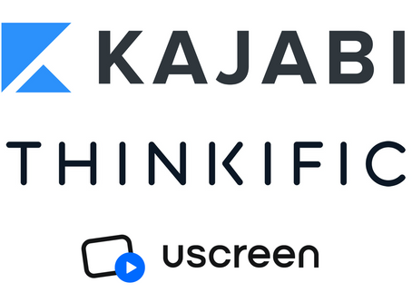 Uscreen vs. Kajabi vs. Thinkific