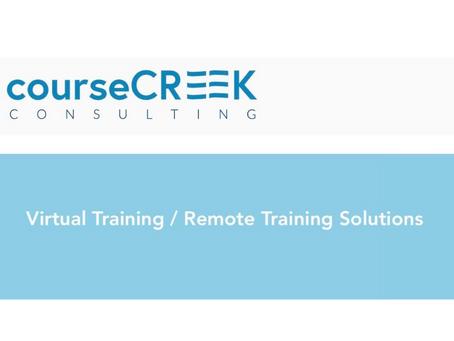 Virtual Training / Remote Training Solutions