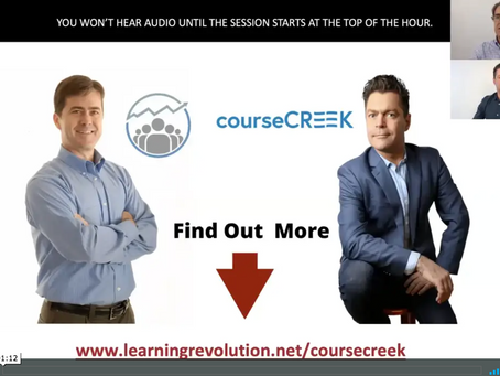 Online Course Consultants - Course Platforms & Implementation: Robert Lunte & Jeff Cobb