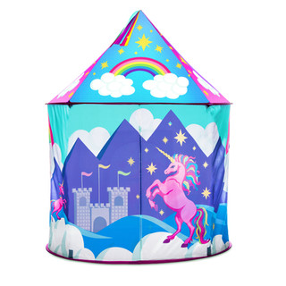 Unicorn Tent Redesign by Lauren Aldrich for USA Toyz
