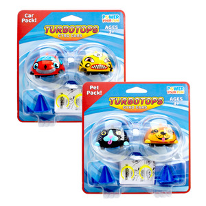 Toy Gyro Car Packaging, Product Design, Logo and Branding