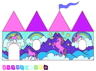 Unicorn Play Tent by Lauren Aldrich